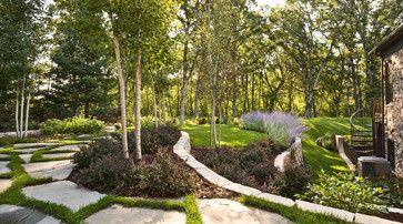 Windsor Companies Contemporary Landscape Minneapolis Windsor Companies Front Yard Landscaping Design Landscape Design Contemporary Landscape Design