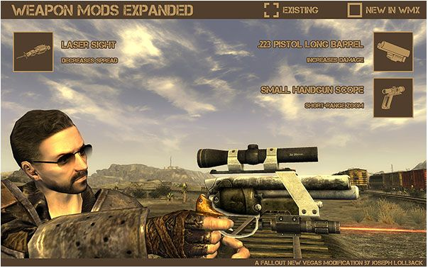 мод Weapon Mods Expanded для Fallout New Vegas скачать - фото 7