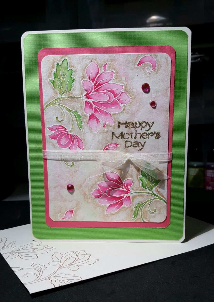 Altenew Persian Motifs Mother S Day Card Marilyn S Cards