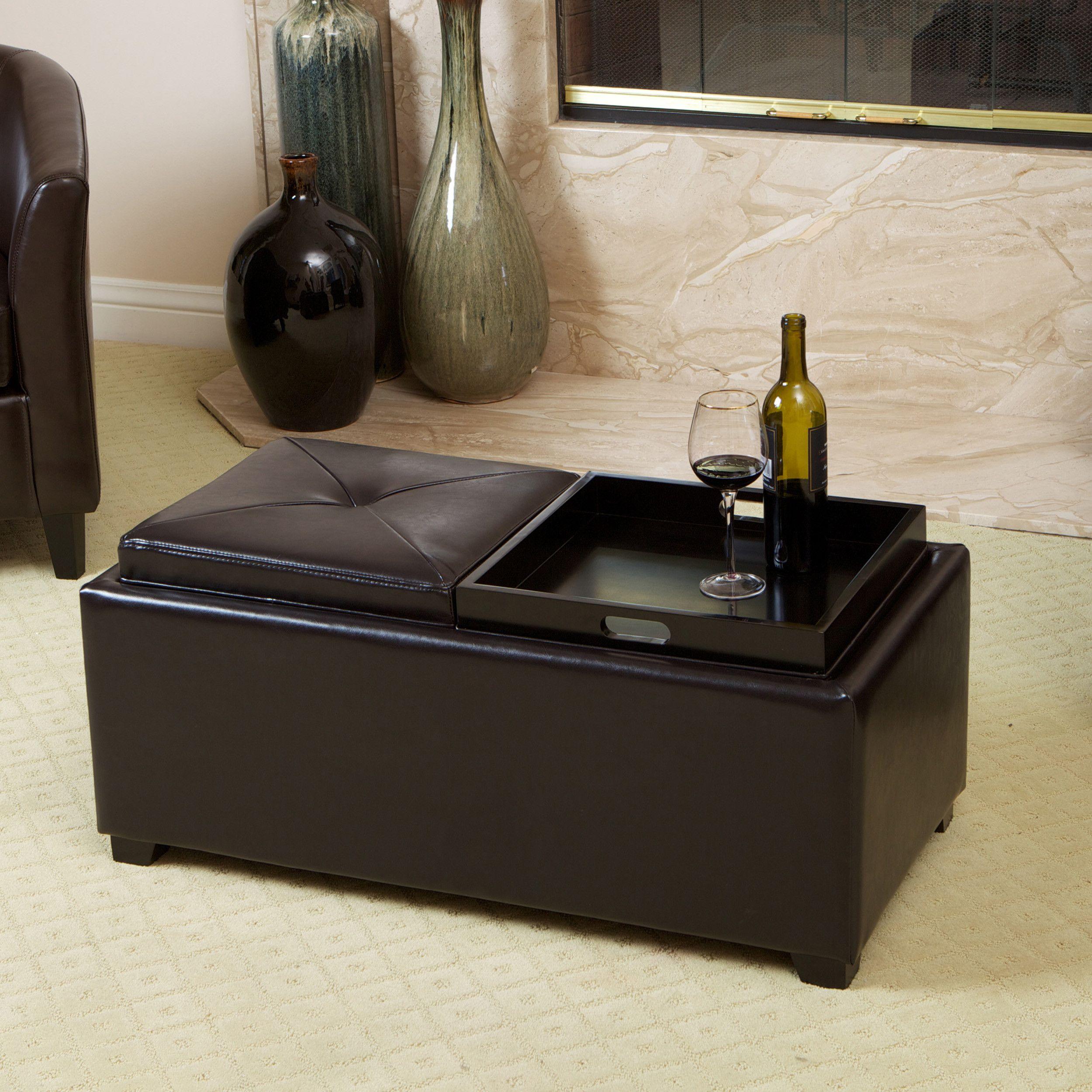 Strange Furniture Home Garden Dark Brown Faux Leather Storage Cjindustries Chair Design For Home Cjindustriesco