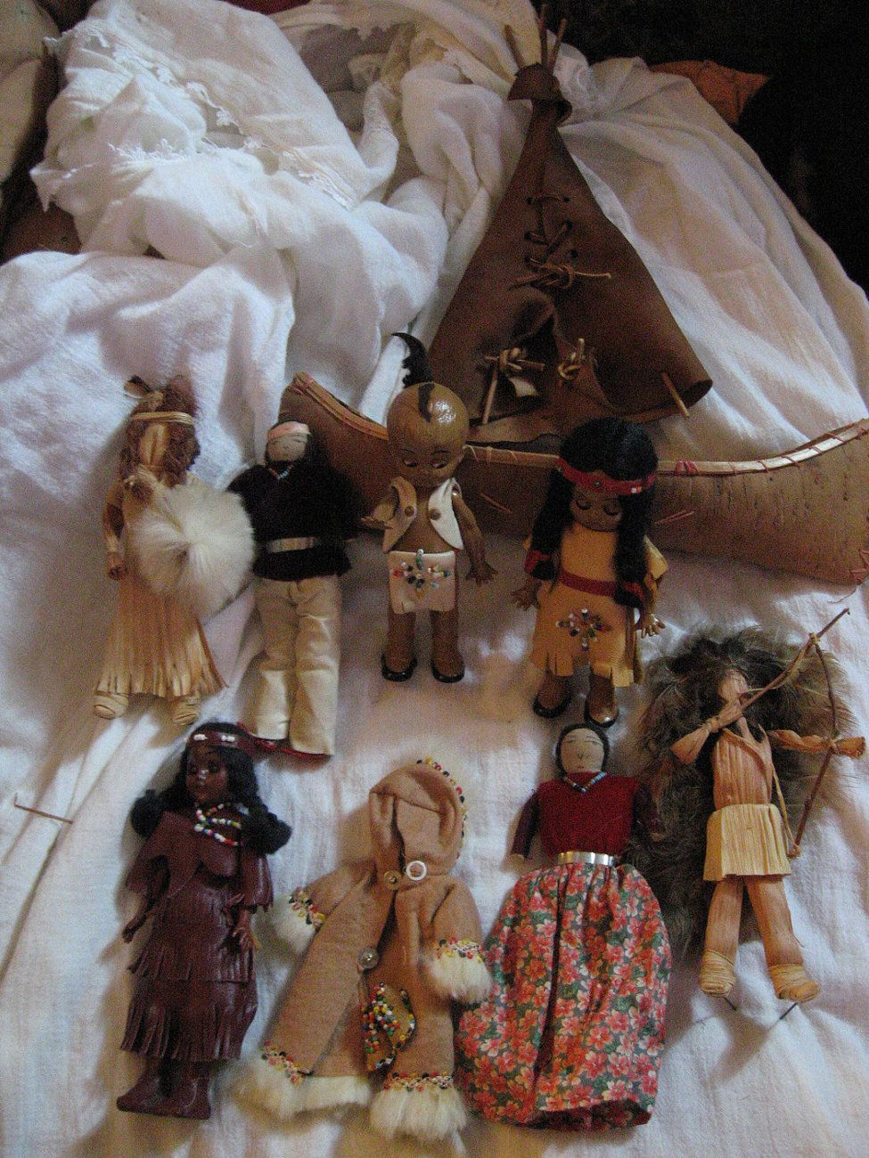 Not Indian tee pees for dolls idea Infinitely