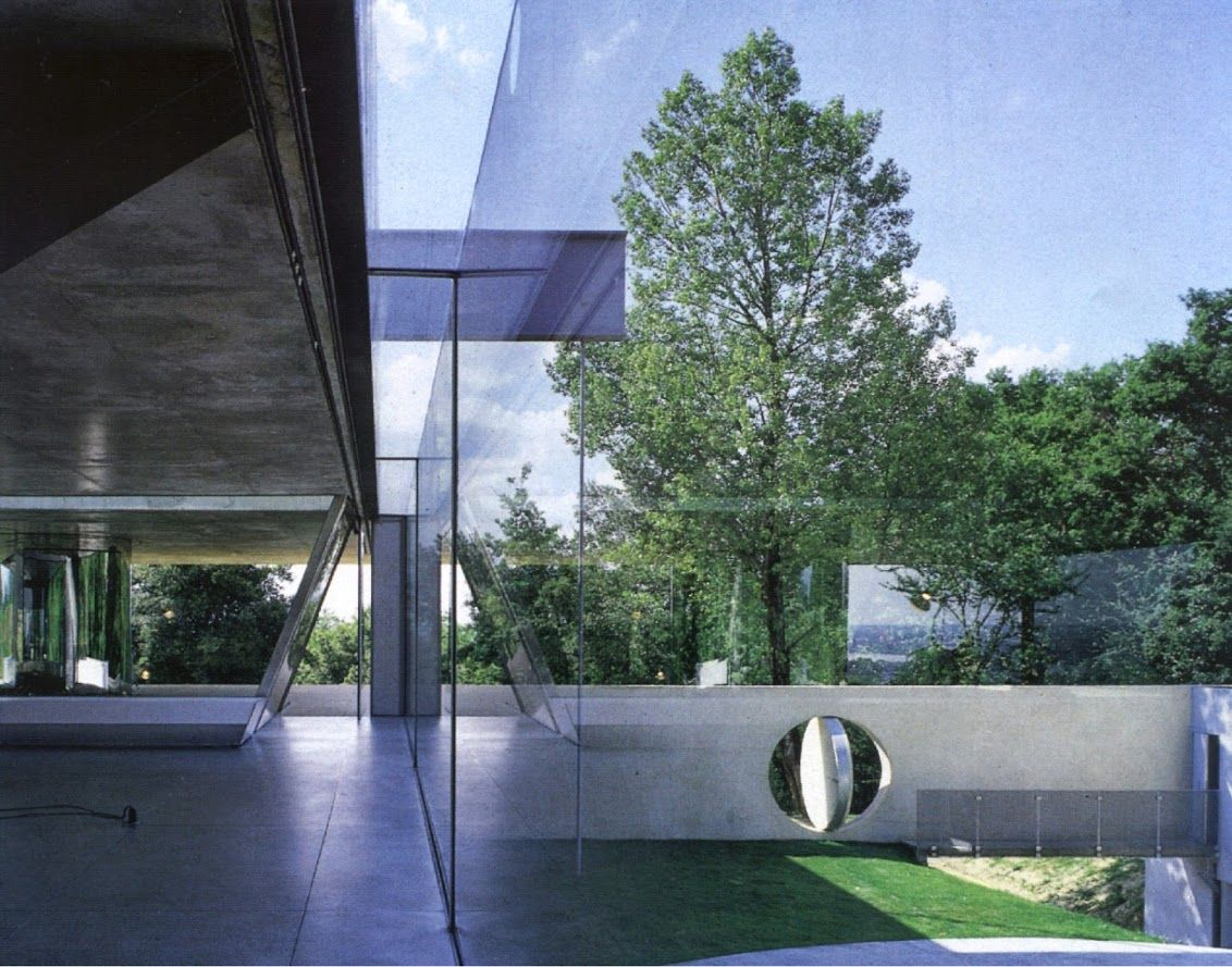 Rem koolhaas villa dall ava paris france 1991 atlas of - Archives Villa Lemoine Querre D Argent In 1999 Architect Rem Koolhaas Oma