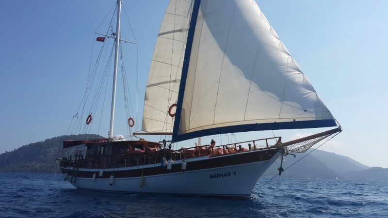 Gunay 1 Sailing Gocek 12 Islands Turkey