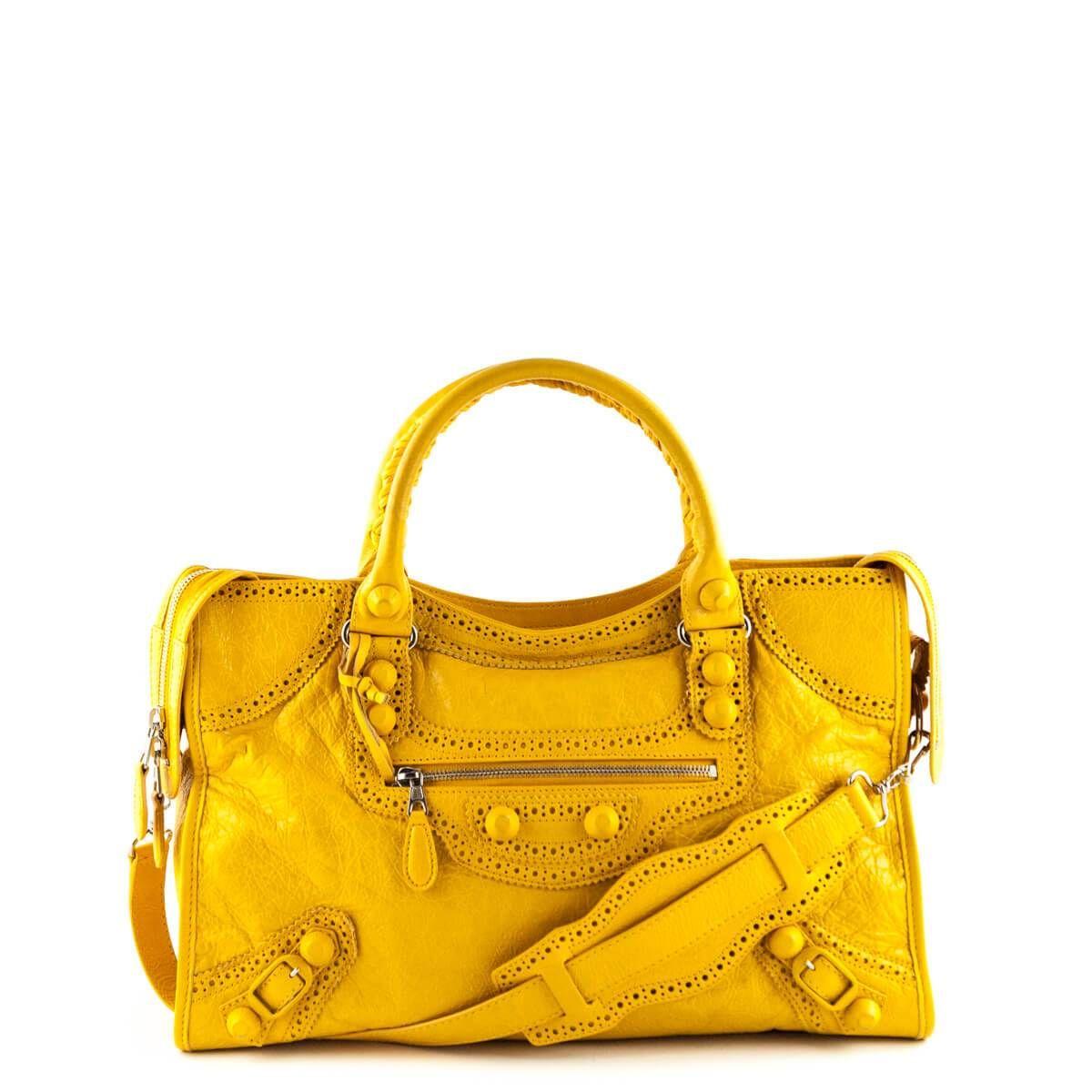49d436756070 Balenciaga Special Edition Mango Lambskin City Bag - LOVEthatBAG - Preloved  Authentic Designer Handbags -  1375