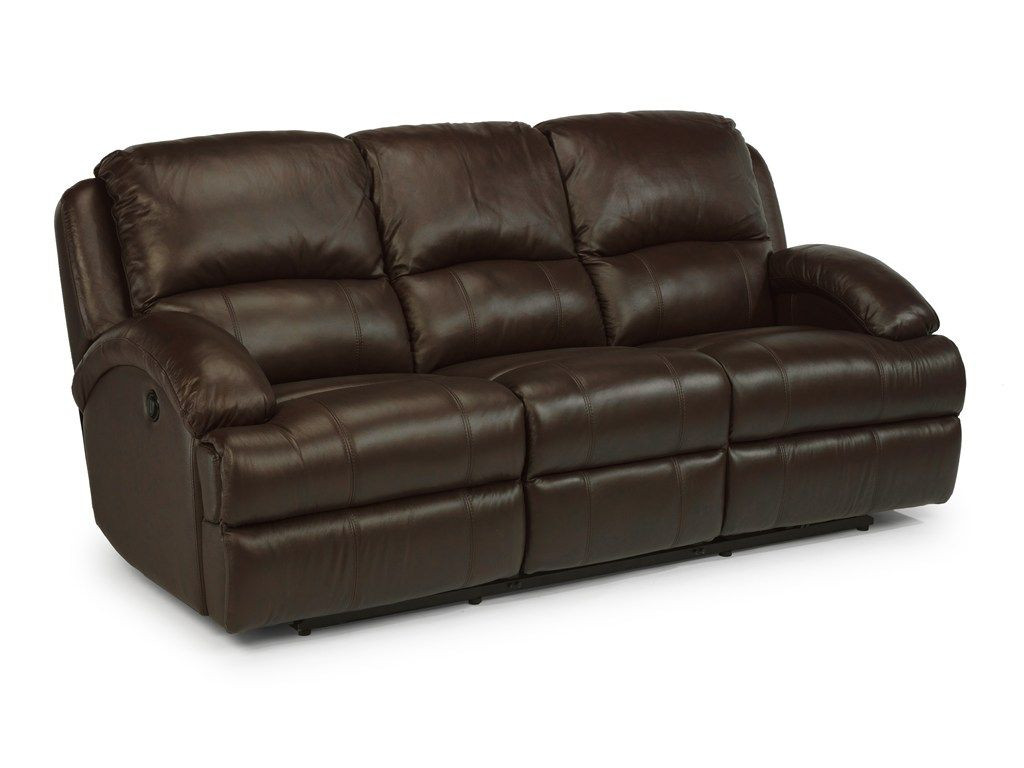 Lane Dual Power Reclining Sofa Real Leather Sofas Uk Flexsteel Latitudes Fast Double With