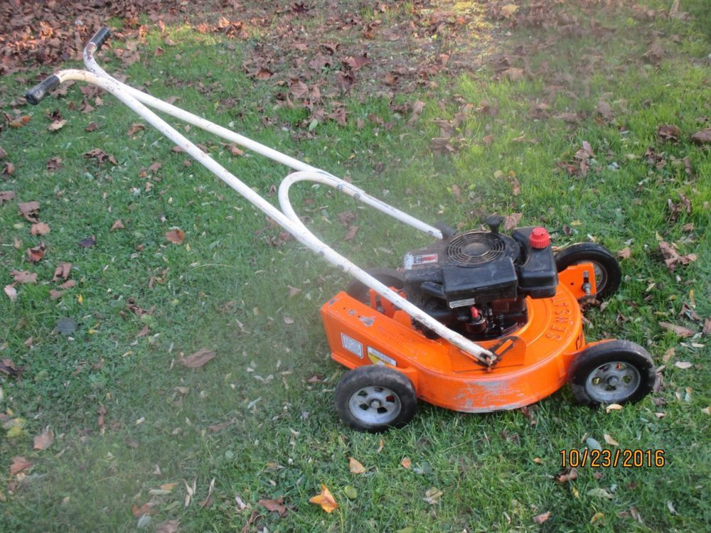 Quot Sensation Quot Commercial Lawnmower 19 Quot Extreemly Scarce