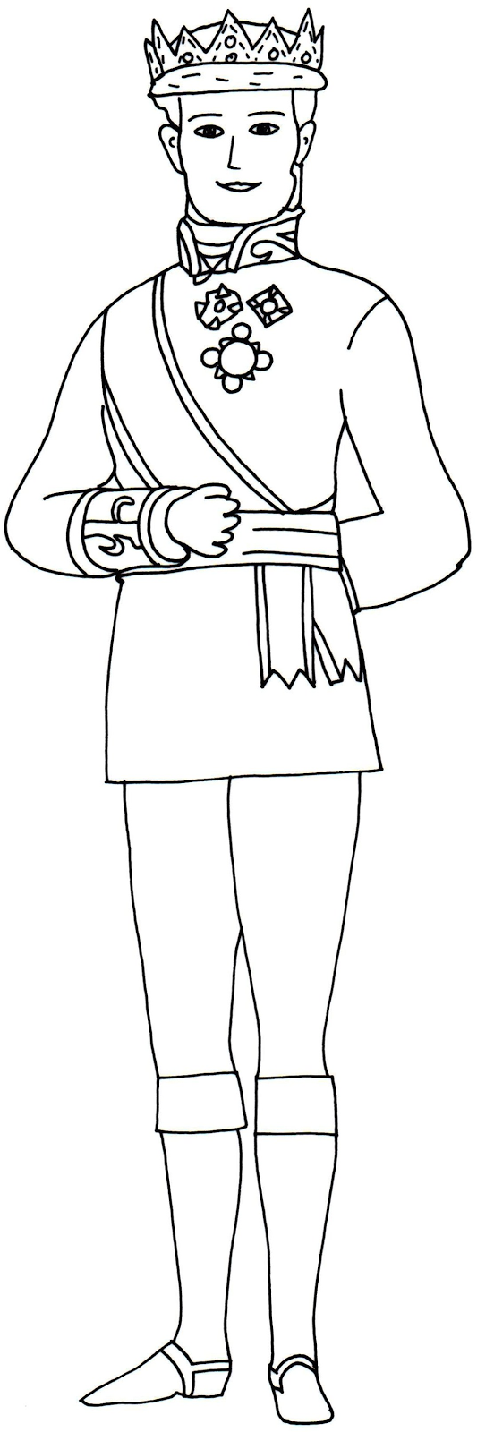 Sofia The First Coloring Pages King