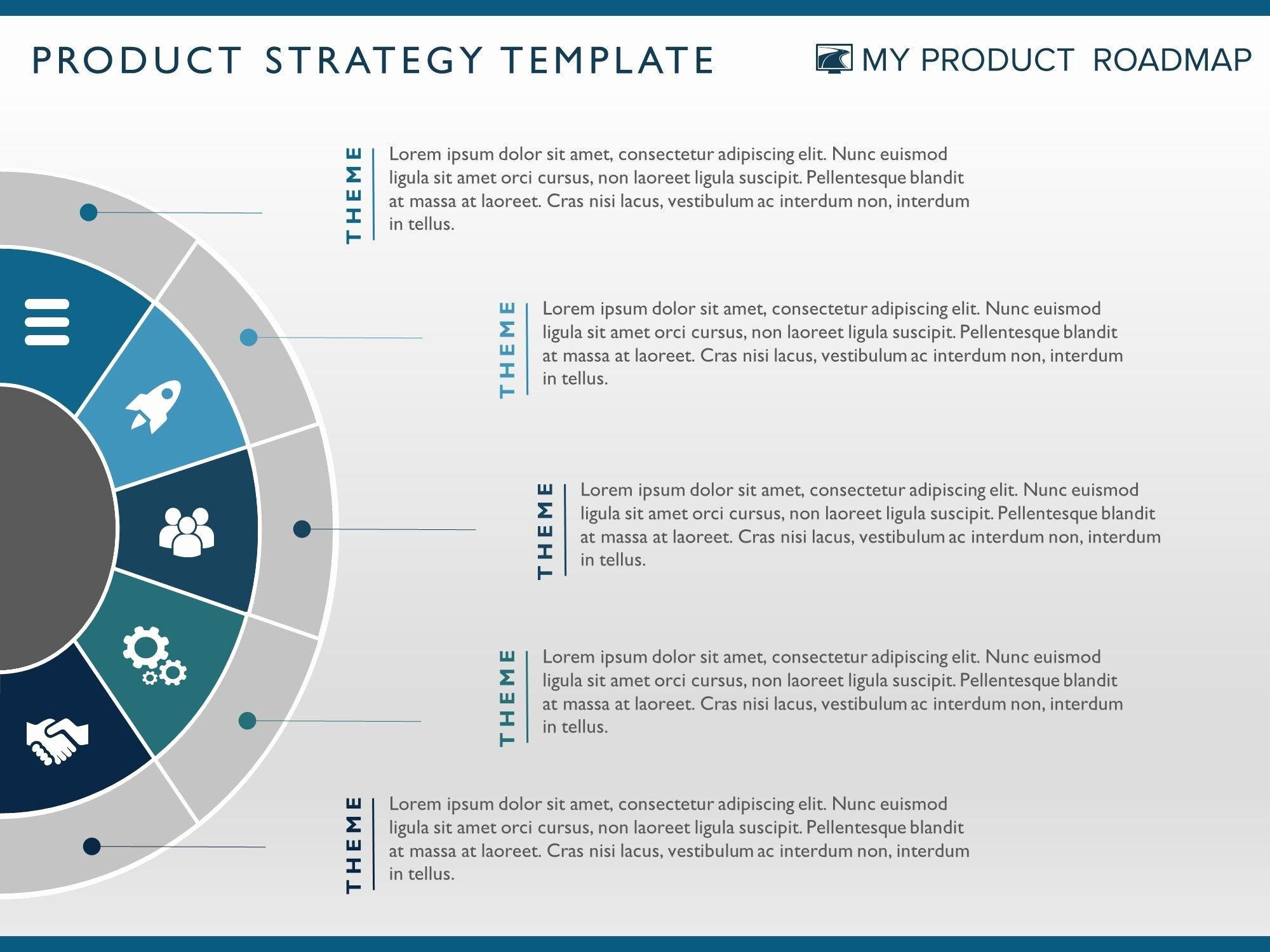 29 Strategic Plan Powerpoint Template in 2020 Marketing
