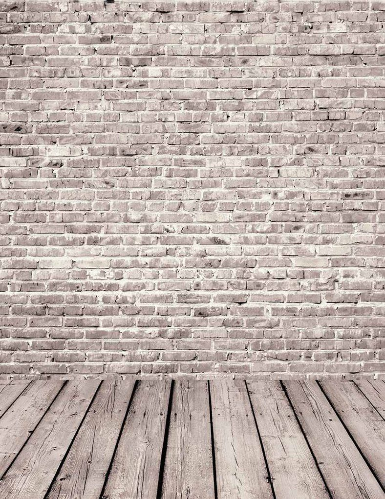 Gray Red Brick Wall Texture With Senior Wood Floor Backdrop For Photography Stone Wall Backdrop Red Brick Walls Brick Wall Backdrop