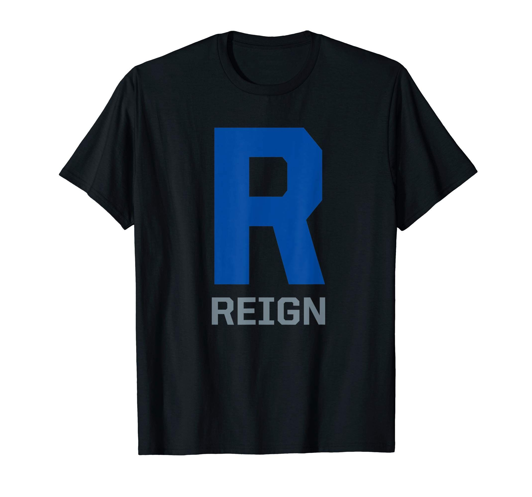 Reign Womens Jersey American Soccer Tacoma Letter R Gift TShirt