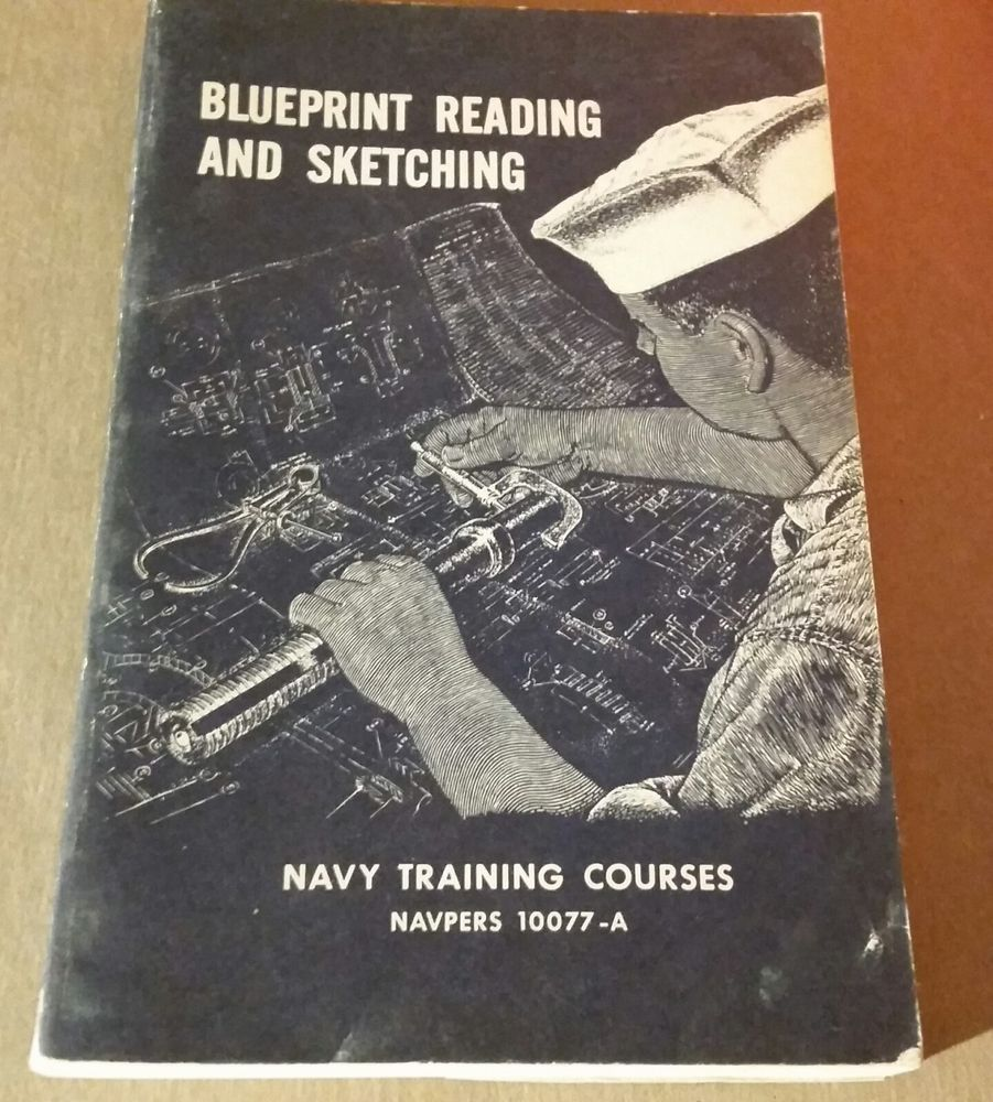 1963 navpers 10077 a blueprint reading and sketching navy training 1963 navpers 10077 a blueprint reading and sketching navy training course book malvernweather Gallery