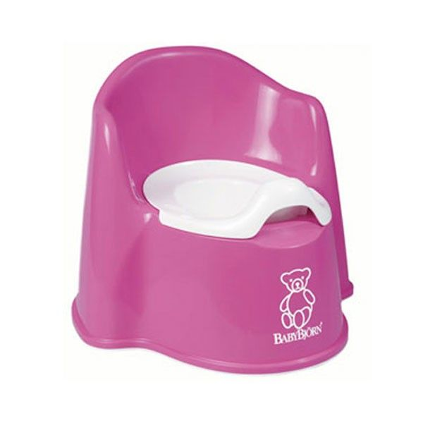 Pink Potty Chair by Baby Bjorn