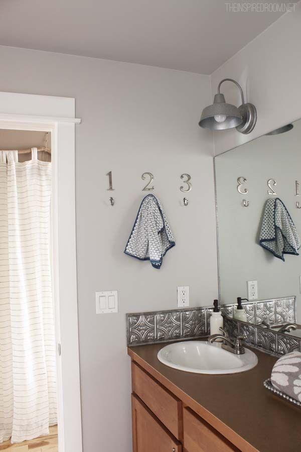 Bathroom Makeover {DIY Weekend Refresh | Diy bathroom ...