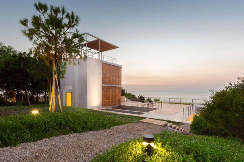 The Courtower Houses | Architect Magazine | Hashim Sarkis Studios, Aamchit,  Lebanon, Single