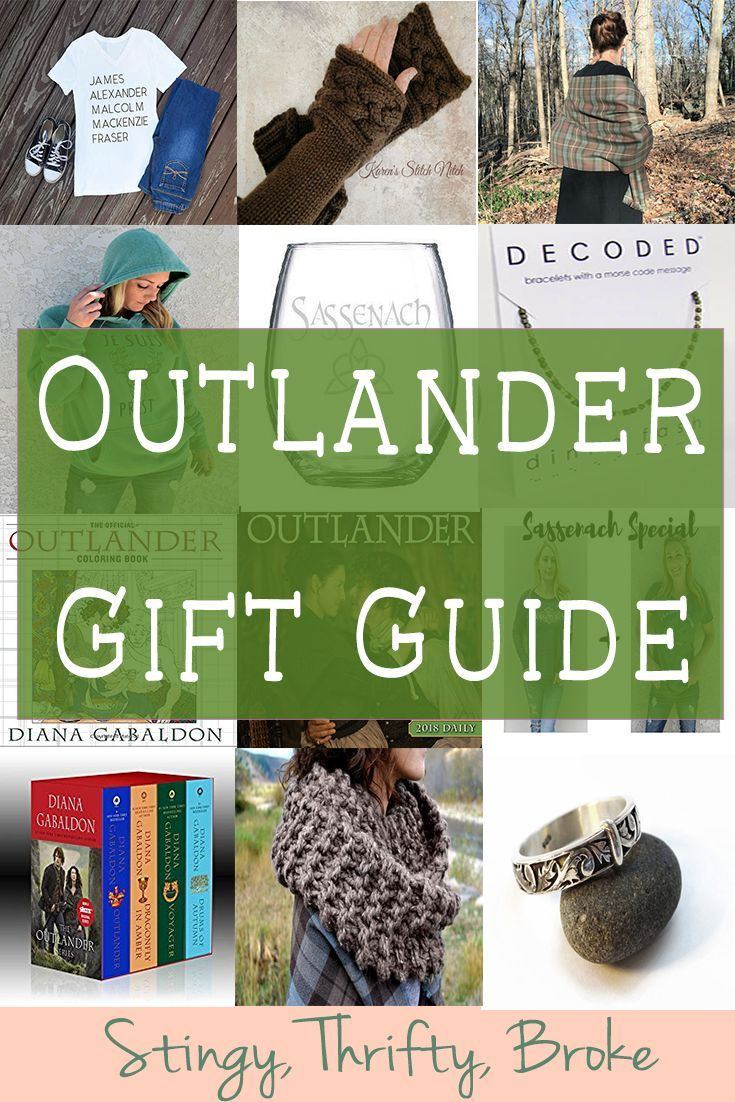 What a great gift guide for anyone obsessed with Outlander!