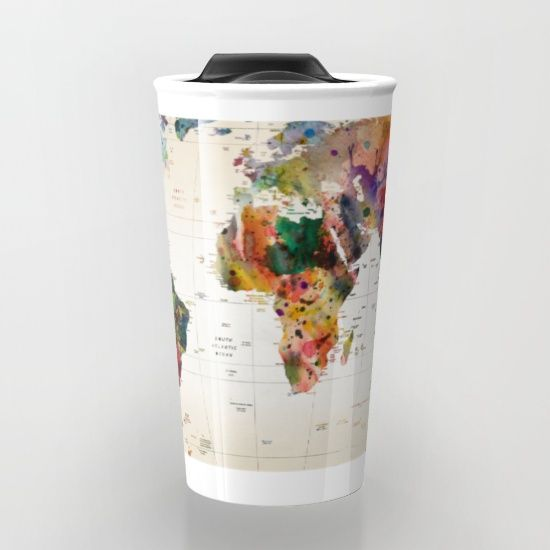 Buy map travel mug by mark ashkenazi worldwide shipping available buy map travel mug by mark ashkenazi worldwide shipping available at society6 just one of millions of high quality products available gumiabroncs Choice Image