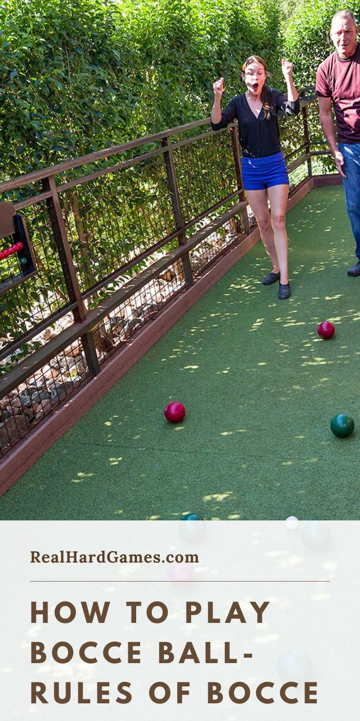 How to play bocce ball rules of bocce in 2020 bocce