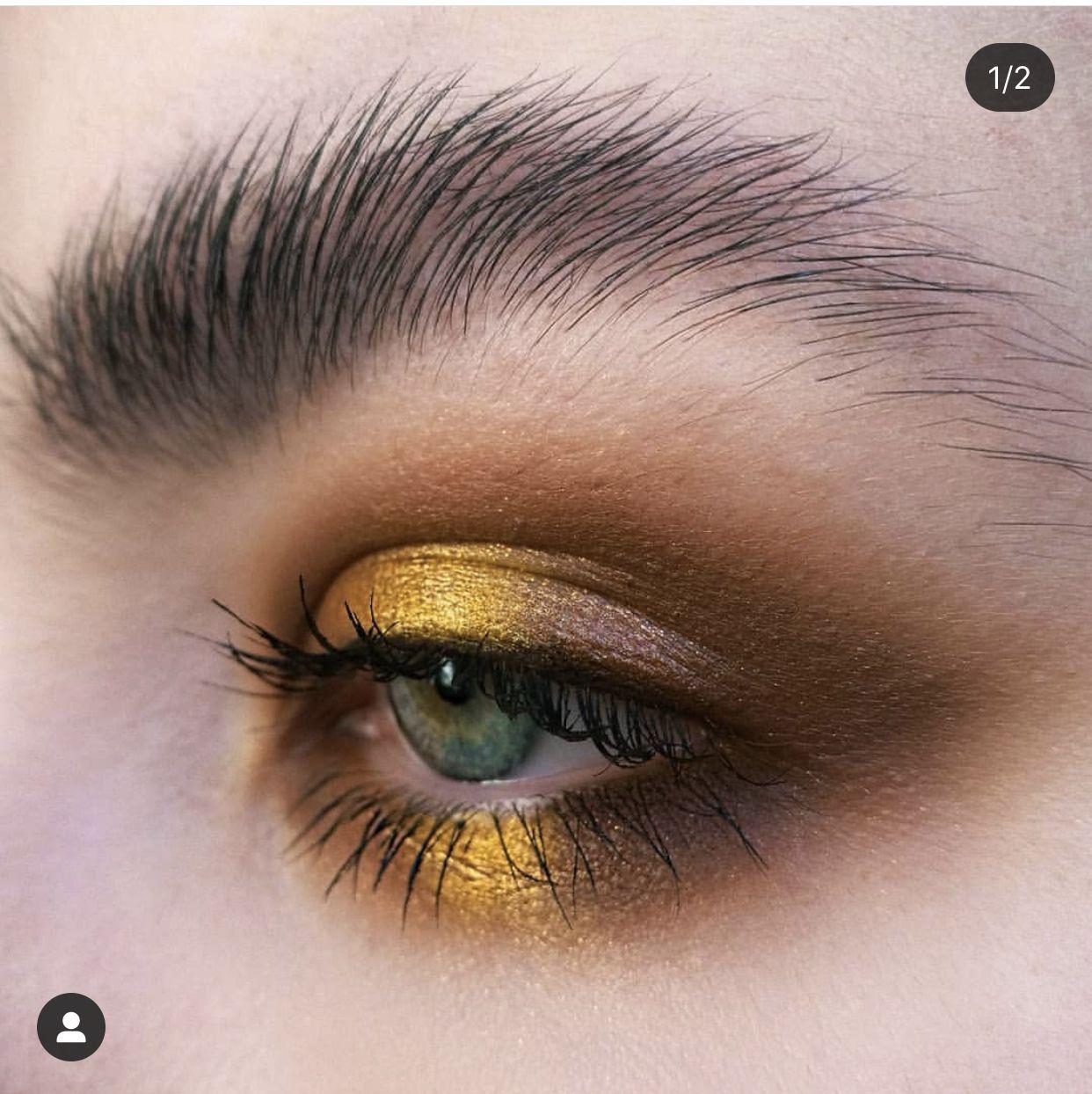 Pin by Mary Kalinina on Yellow jacket Halo eye makeup
