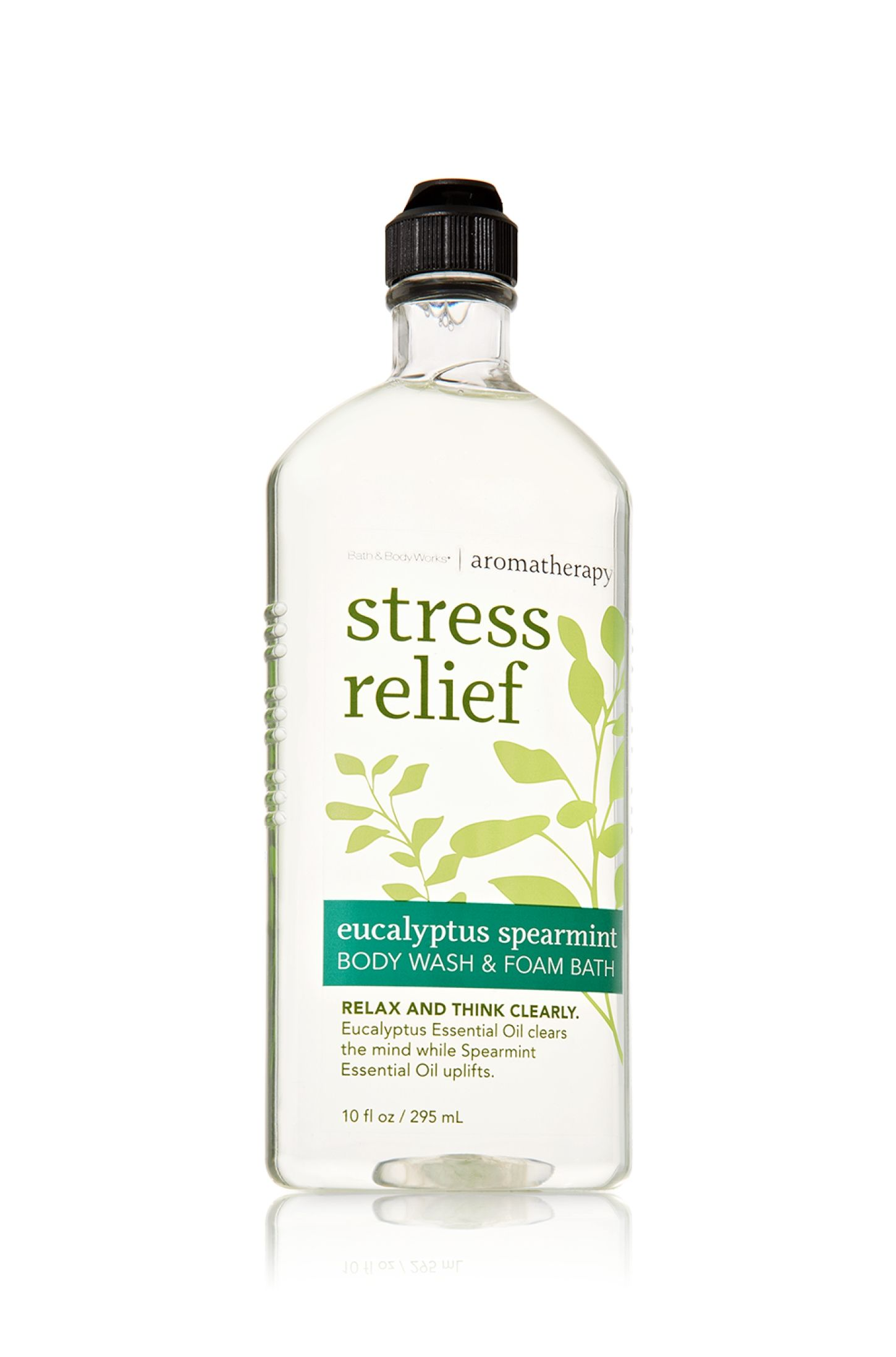 Stress Relief Eucalyptus Spearmint Body Wash Foam Bath