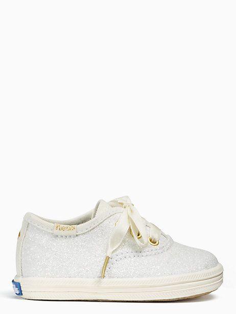 2a83aa0e56e3 Keds Kids X Kate Spade New York Champion Glitter Crib Sneakers ...