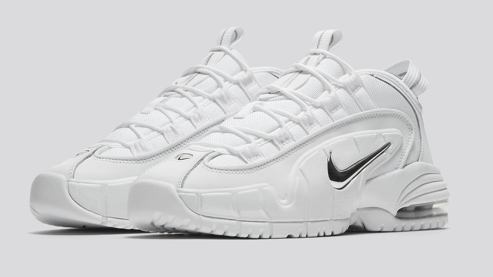 d6f754baa0bdf5 Nike Air Max Penny 1 White Metallic - White Metallic Silver