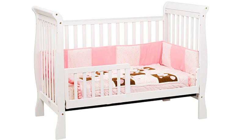 Davinci Cuna Jamie 4 En 1 Color Blanco Convertible Crib Convertible Crib White Bed