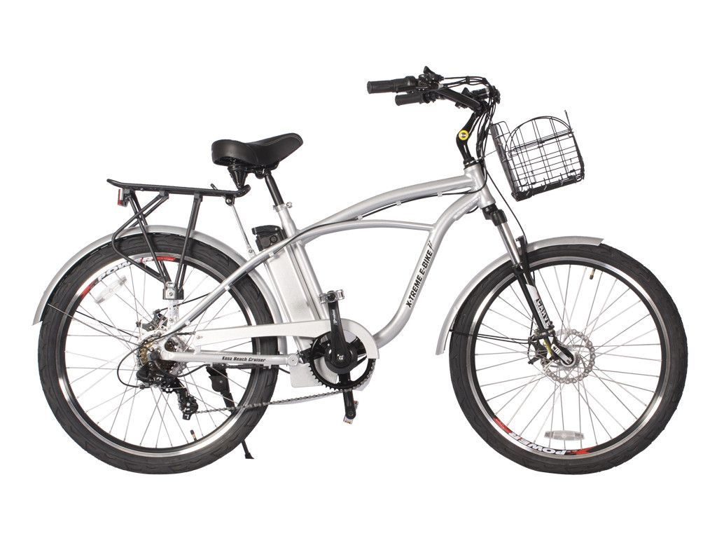 The Kona Lithium Battery Powered Beach Cruiser Electric