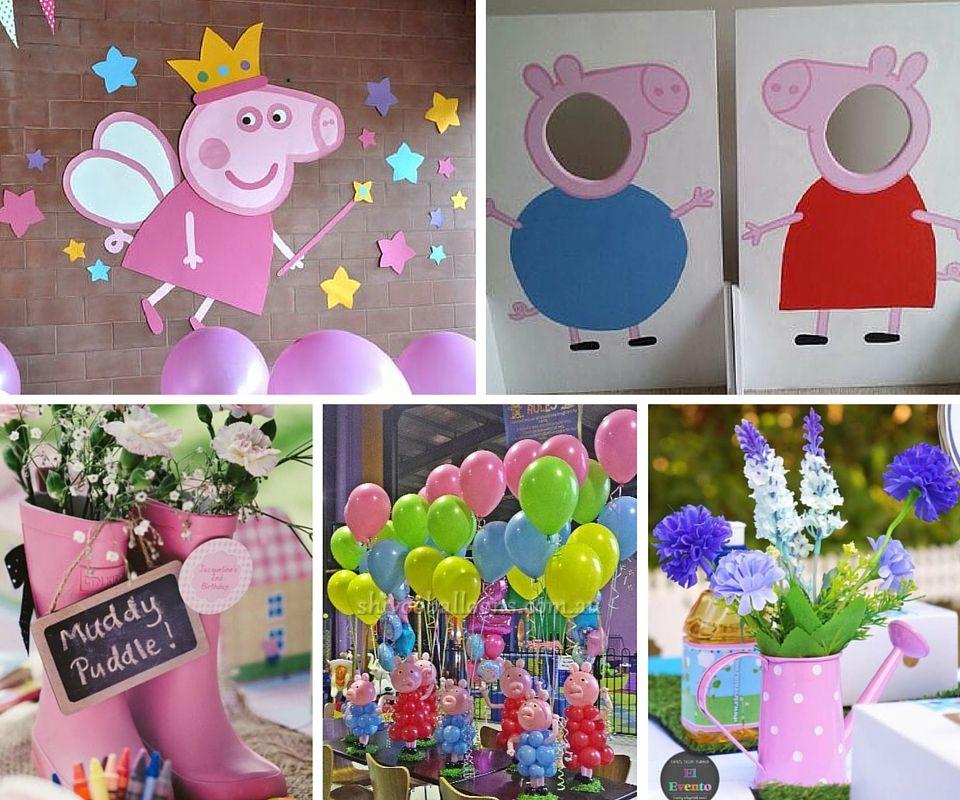 выбрать свадебного день рождения в стиле свинка пеппа фото итоге