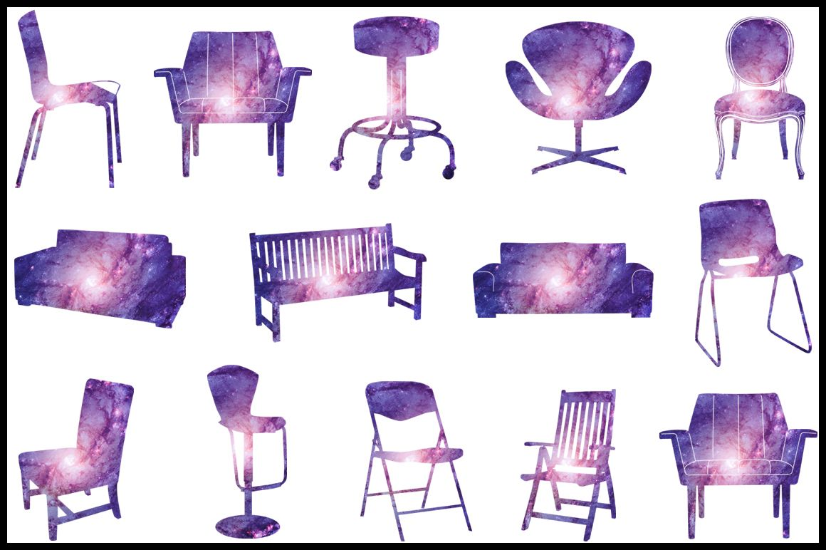 cosmic furniture clipart commercial use furniture clipart graphics furniture clipart digital clip art [ 1160 x 772 Pixel ]