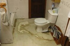 How To Fix A Wet Subfloor In A Bathroom Mobile Home Bathrooms