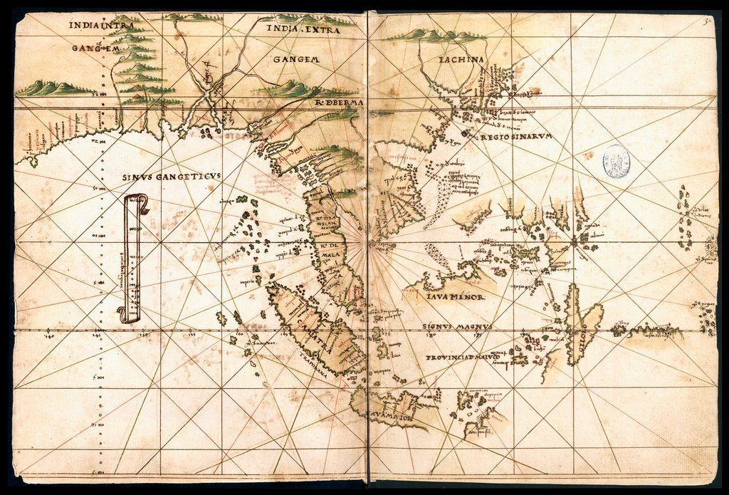 map of southeast asia date created around 1539 1560general atlas of all the islands in the world