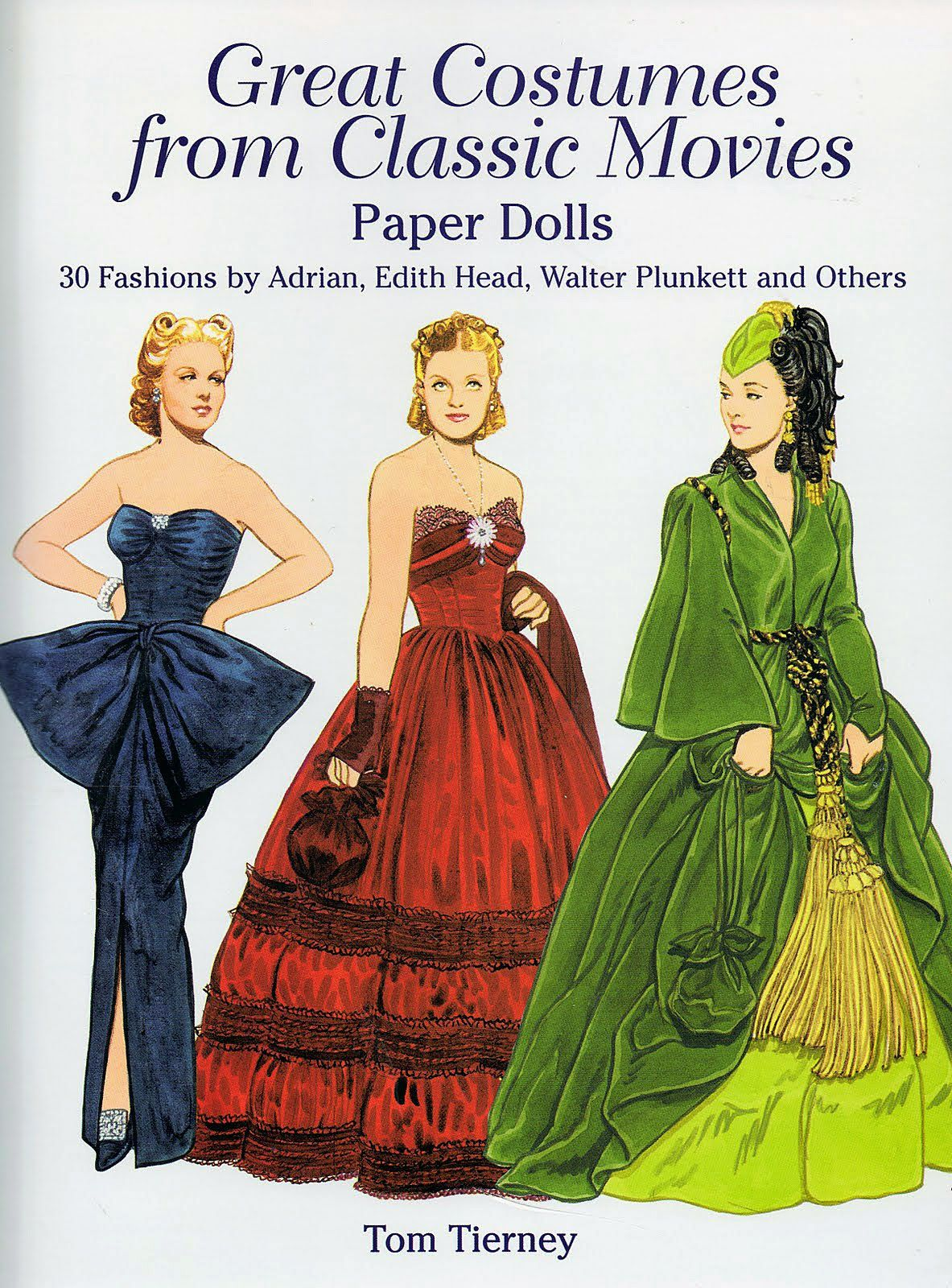Tom tierney colonial fashions paper dolls - Fashion The Fashion Doll Chronicles Tom Tierney The Paper
