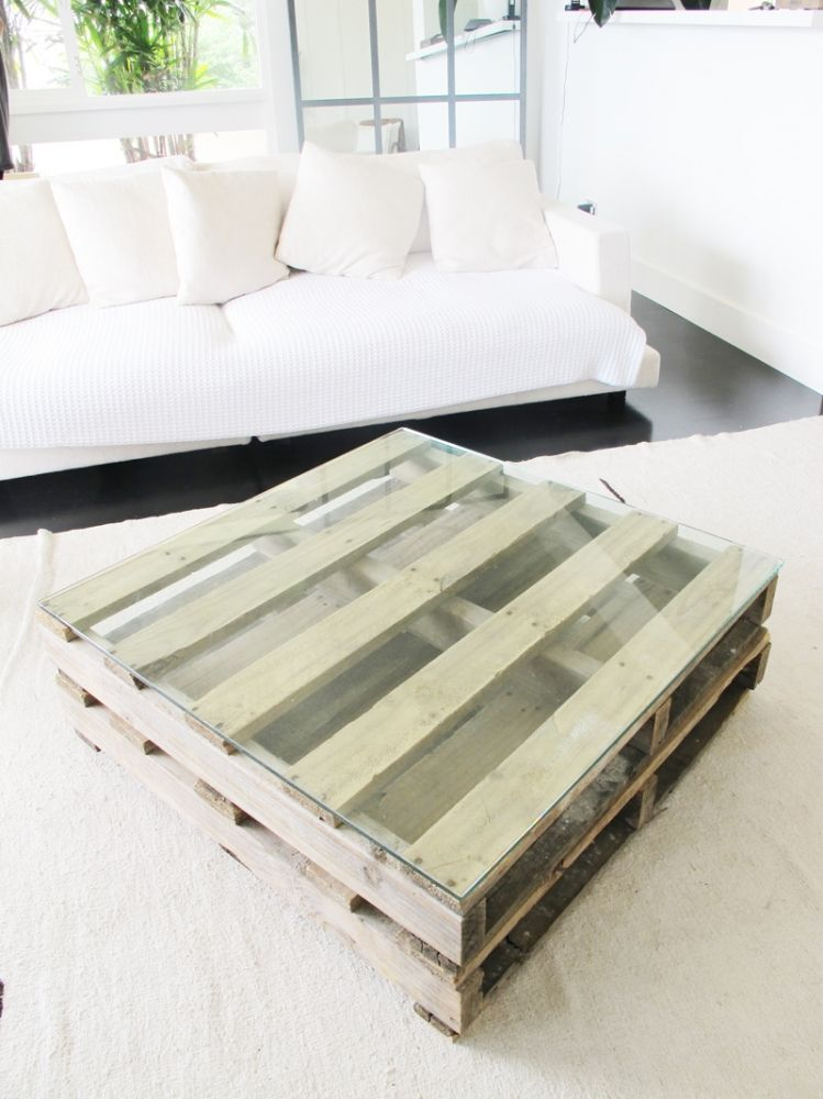 crate coffee table | Ideas | Pinterest