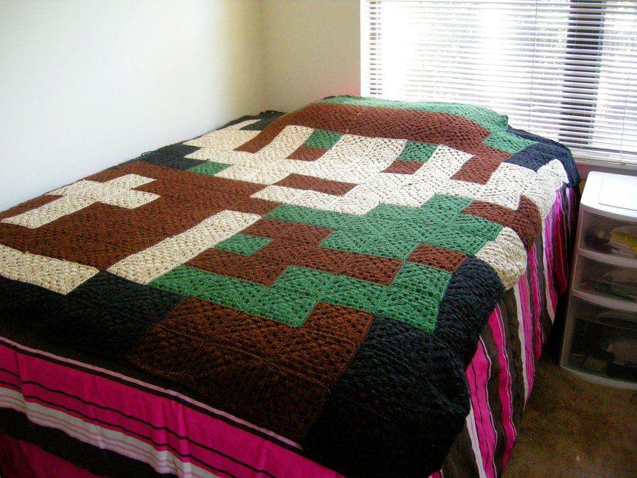 legend of zelda crochet pattern afghan | ... : More Like Star Trek ...