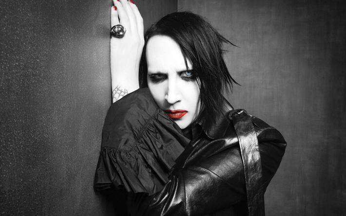 Download Wallpapers Marilyn Manson 2017 Rock Band Superstars Celebrity Besthqwallpapers Com Marilyn Manson Marilyn Manson Music Marilyn Manson 2017