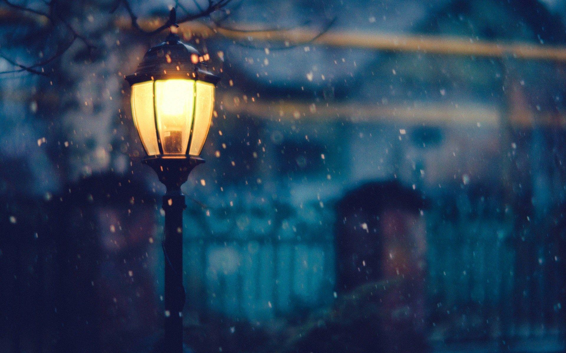 Winter Night Wallpaper Hd Download Free