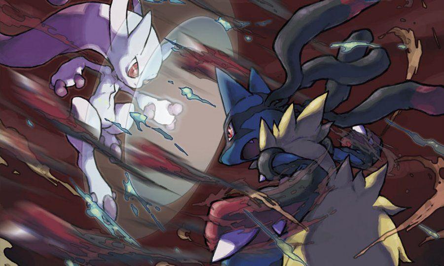 Mega Mewtwo Y vs Mega Lucario