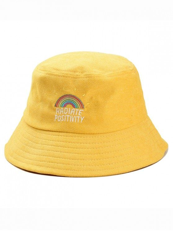 [HOT] 2019 Rainbow Embroidery Corduroy Fisherman Hat In YELLOW | ZAFUL Hat Type: Bucket Hats Group: Adult Gender: For Women Style: Fashion Pattern Type: Others Material: Corduroy Weight: 0.1200kg Package: 1 x Hat