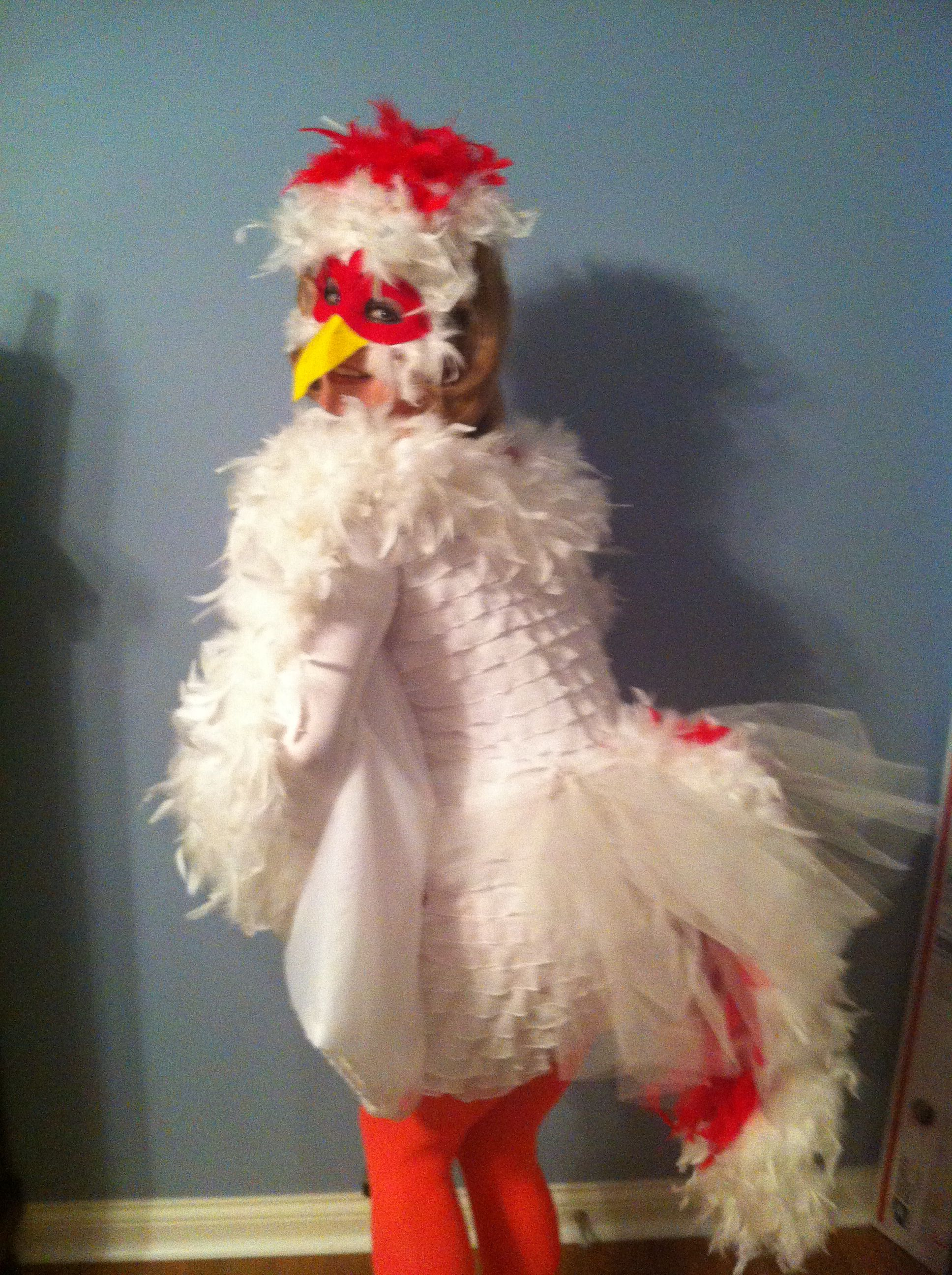 Chicken Costume  For A Very Cute Little Someone That I -3524