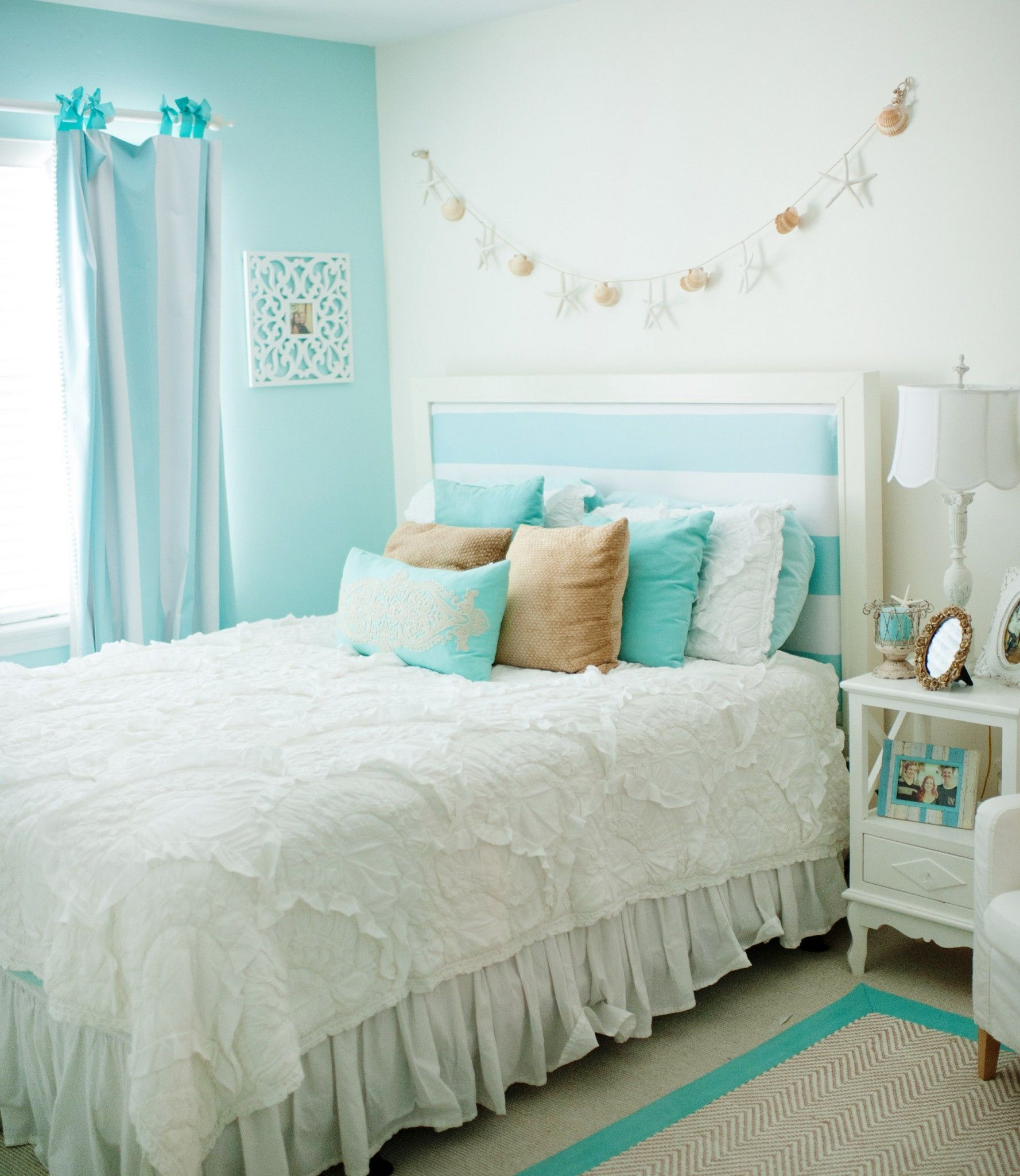 21 Cute Bedroom Ideas Girls That Will Make A Beautiful Dream Turquoise Room Bedroom Makeover Bedroom Themes
