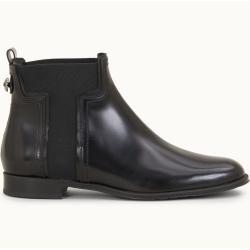 Tod's - Chelsea Boots aus Leder, Schwarz, 38.5 - Shoes Tod's