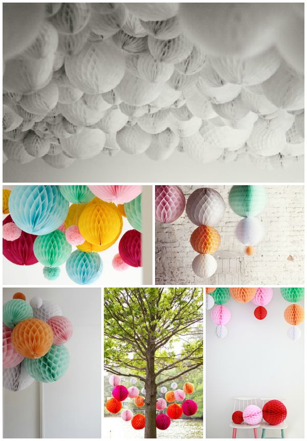 Honeycomb Decorations Paper Balls Entrancing Honeycomb Party Decorations  Would Be Cute For A Baby Shower With Inspiration Design