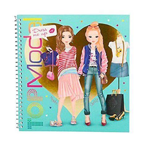 topmodel 7999 - dress me up stickerbuch | topmodel, geschenkideen kinder, models