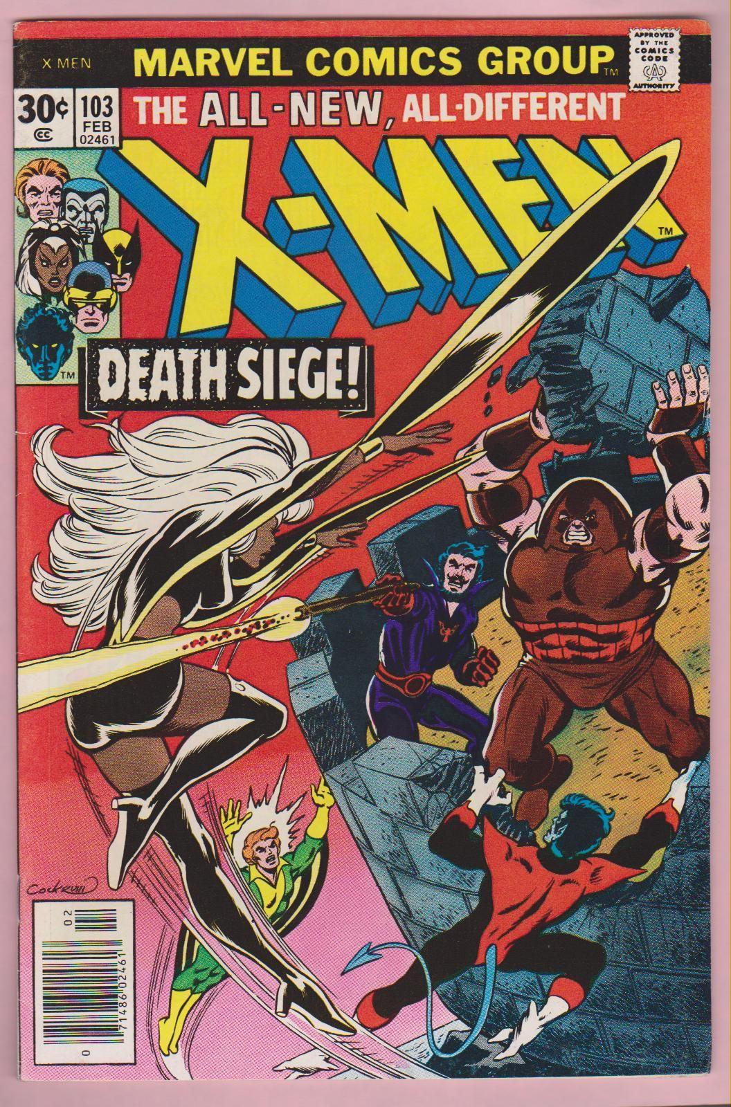 Storm Banshee Nightcrawler V Juggernaut Marvel Comic Books Marvel Comics Covers X Men