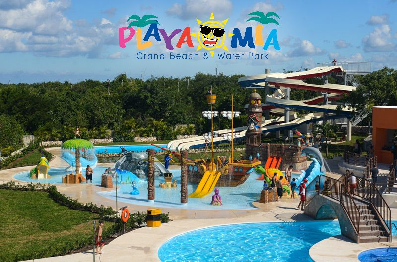 Funtastic Day With Your Kids At Cozumel Premiere Grand Beach Water Park Playa Mia Hyfriday Tgif