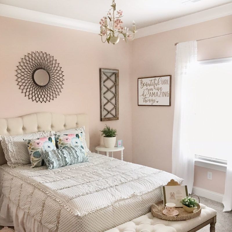 Paint Schemes For Bedroom Pink Bedroom Colors Bedroom: Magnolia Home Paint Ella Rose Our Vintage Nest