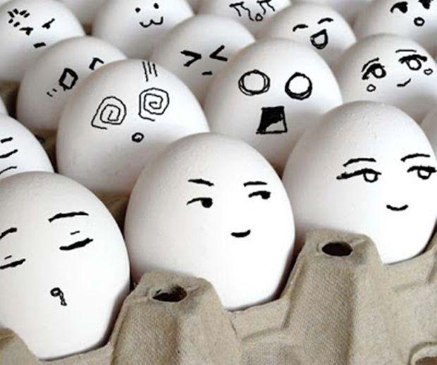 funny eggs emotion mood - photo #19