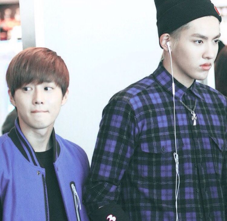Kris and Suho