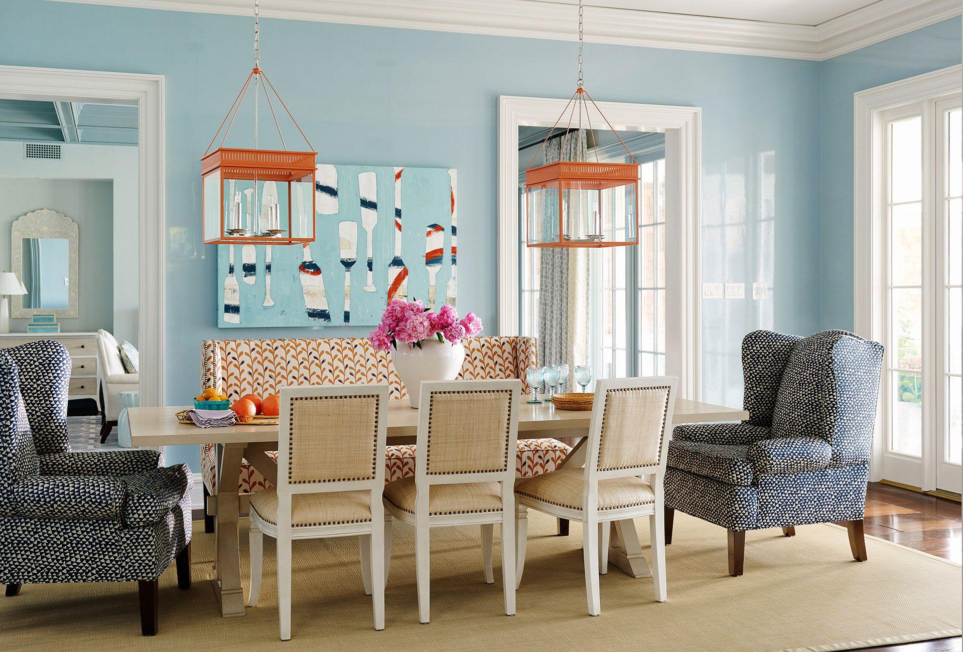 Andrew Howard Interior Design Shingle Style Dining Room