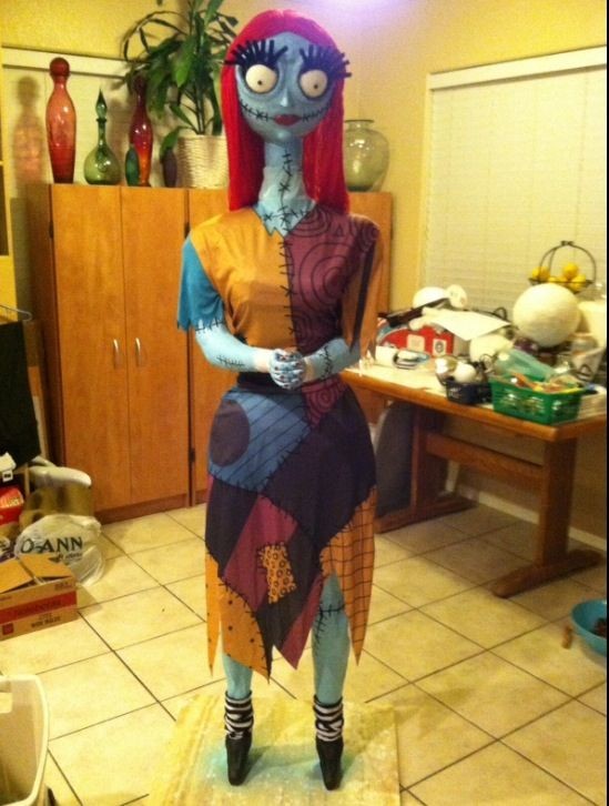 The handmade, life size Nightmare before Christmas characters made ...